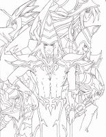 Dark Magician Tribute 200+ Watchers! by xXLostPaintingsOx