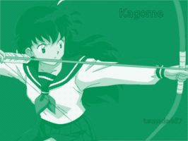 Kagome Wallpaper by tsunade487