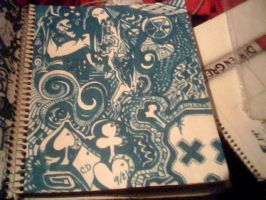 Sharpie Project: Light Blue by ShunAndromeda