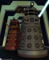 Dalek Attack! by Librarian-bot