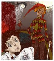 Pierrot by SleepyLamb