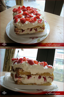 Antique Strawberry Shortcake by Firnheledien
