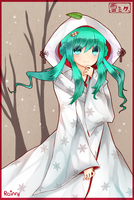 Snow Miku + speedpaint by Rainry