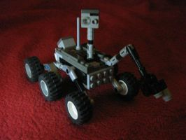 Curiosity Rover ... in Legos by AfroMatrix007