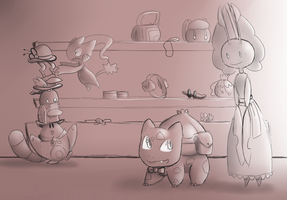 Post Mission 6: Accessories! by lozfoe444
