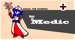 TF2 - Emma as the Medic by Edge14