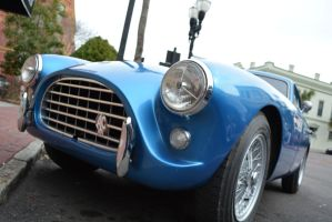 Photography Assignment 2 Blue Sports car close-up by ENT2PRI9SE