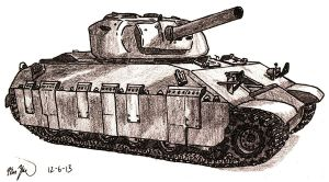 Assault Tank T14 by TimSlorsky