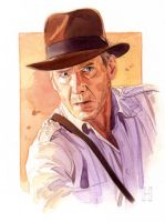 Indiana Jones by roberthendrickson