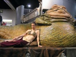 Slave Leia Costume - 4 by msventress