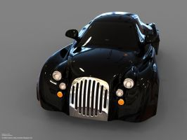 Existentia Concept Car. View 4 by car2ner