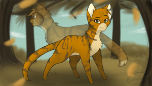 Thunder and Firestar by Alphabet-Zoo