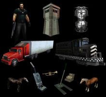 Prop Models and more by Bullettrainstudios