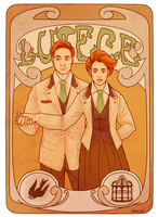 Bioshock Infinite | The Luteces by Lazorite