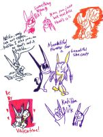 BxK sketches by Ghost-Peacock