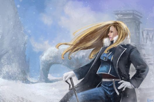 Olivier Mira Armstrong by RikaMello
