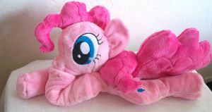 Pinkie Pie beanie Plush by SiamchuchusPlushies