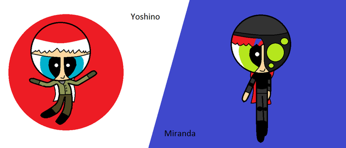 (new AFG Squad) Yoshino and Miranda by Oscargreget