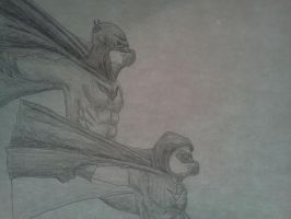 Batman and Robin by Kongzilla2010
