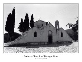 Crete - Church of Panagia Kera by denise-g