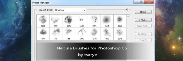 Resource Pack 5 Nebula Brushes by GlennClovis