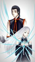 Asur and Niilita by Ircuz