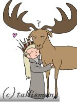 Elk Love by TallyBaby13