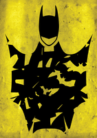 BATMAN GRAPHICS PRINT by MrClickingButtons