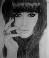 Lea Michele by XLily21
