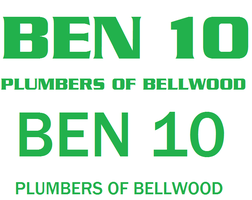 Ben 10: Plumbers of Bellwood old and new logos by AdrenalineRush1996