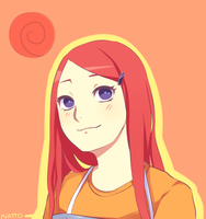 Kushina Uzumaki by nattouh