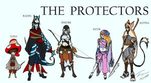 The Protectors by jakeset