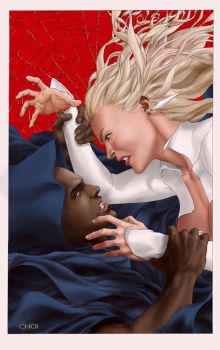 S-I: Cloak and Dagger 2 cover by MichaelChoiArt