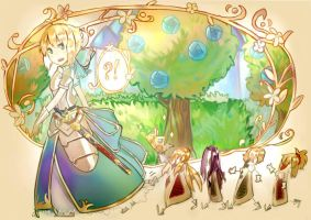 Little Arturia in Wonderland by Tthal