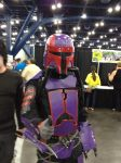 Purple Mandalorian by Xephiliomia