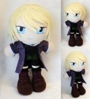 Commission, Plushie Alois Trancy by ThePlushieLady
