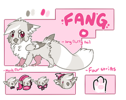Fang Ref Sheet by Fenny-Fang