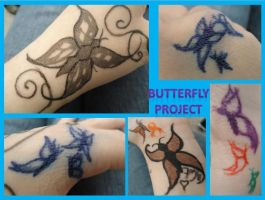 The Butterfly Project by cheeseycat7