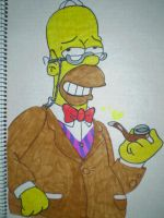 Homer Simpson by HeinousFlame