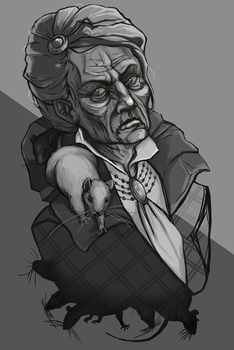 Dishonored - Granny Rags by pseudoMim