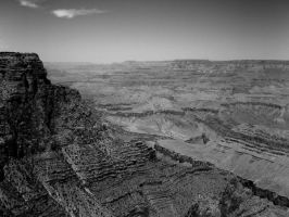 Grand Canyon b and w2 by jayshree