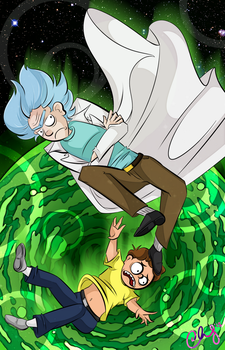 Rick and Morty by ccucco