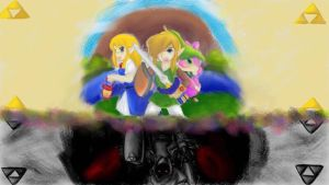 The Legend of Zelda: A Link Between Worlds by DanielSchacht