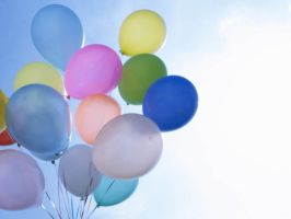 Balloons Wallpaper by Shaiderali