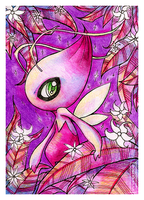 .shiny celebi by vexnir