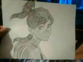 Korra drawing by jessehopper