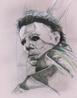 Michael Myers '11 -in progress by SammyG23