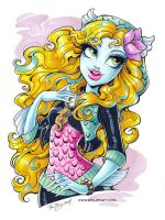 Lagoona commission final by KelleeArt