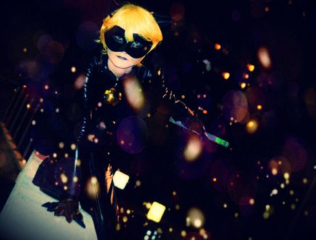 Chat Noir cosplay by lilly10baby