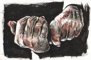 Old hands by Misaky